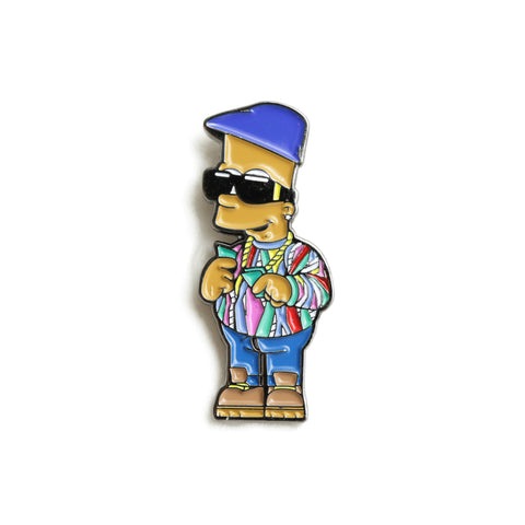Good Hustle Company - 'Notorious Bart' [(Multi-Color) Pin]
