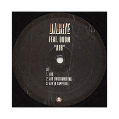 "<!--020060418006845-->Dabrye - 'Air/ Air (Remix)' [(Black) 12"""" Vinyl Single]"