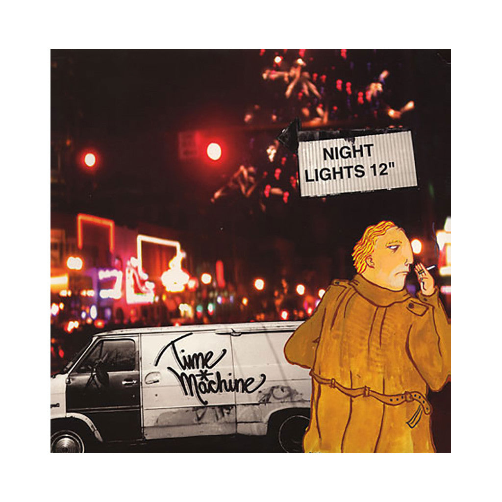 "<!--020040420011453-->Time Machine - 'Night Lights/ Personal Ads (Remix)' [(Black) 12"""" Vinyl Single]"