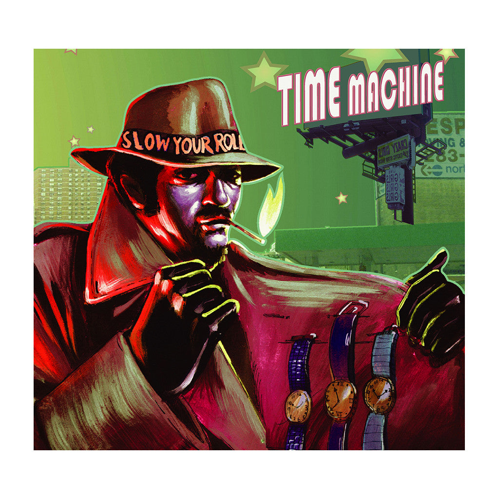 <!--020040601000665-->Time Machine - 'Slow Your Roll' [CD]
