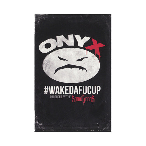 Onyx & Snowgoons - '#WAKEDAFUCUP' [(Clear) Cassette Tape]