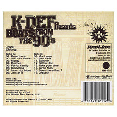 K-Def - 'Beats From The 90's Vol. 1' [CD]