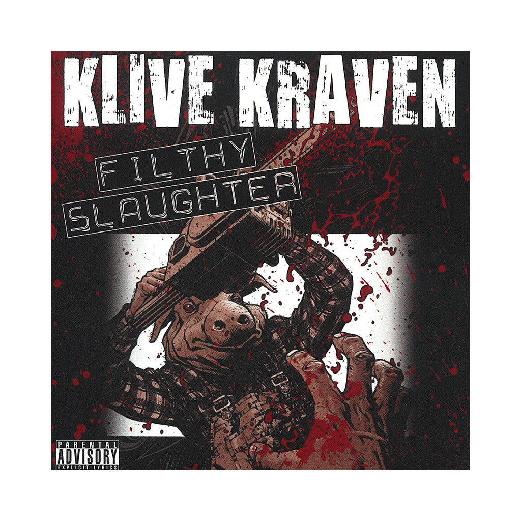 <!--020100101060627-->Klive Kraven - 'Filthy Slaughter' [CD]