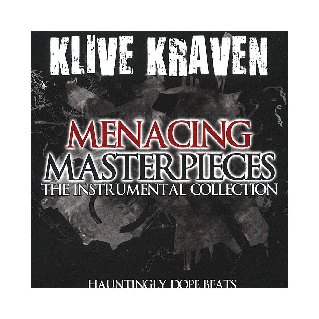 <!--120110101060618-->Klive Kraven - 'Menacing Masterpieces: The Instrumental Collection' [CD]