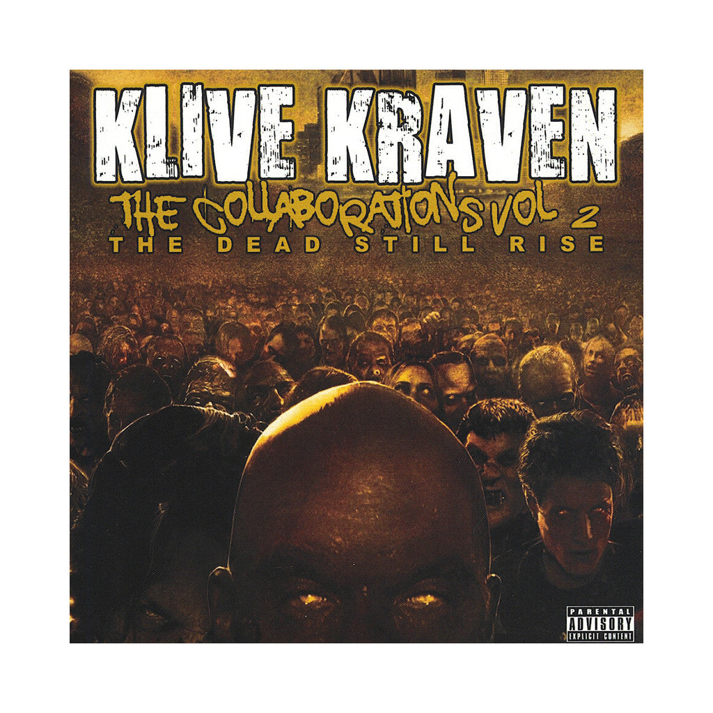 <!--020120101060624-->Klive Kraven - 'The Collaborations Vol. 2: The Dead Still Rise' [CD]
