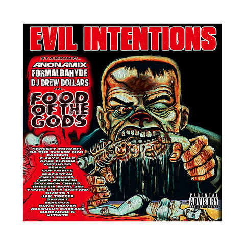 Evil Intentions - 'Food Of The Gods' [CD]
