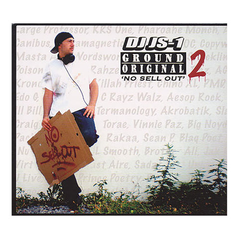 DJ JS-1 - 'Ground Original 2: No Sell Out' [CD [2CD]]