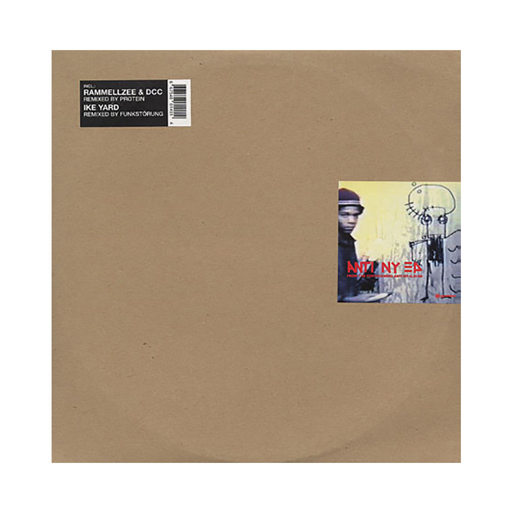 "<!--020020115001262-->Sexual Harrassment b/w Death Comet Crew - 'Anti NY EP: If I Gave You A Party b/w Exterior St. (Remix) b/w N.C.R. (Remix)' [(Black) 12"" Vinyl Single]"