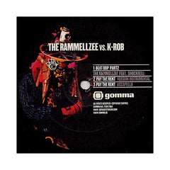 "<!--020040101016052-->Rammellzee - 'Pay The Rent/ Beat Bop Pt. 2' [(Black) 12"" Vinyl Single]"