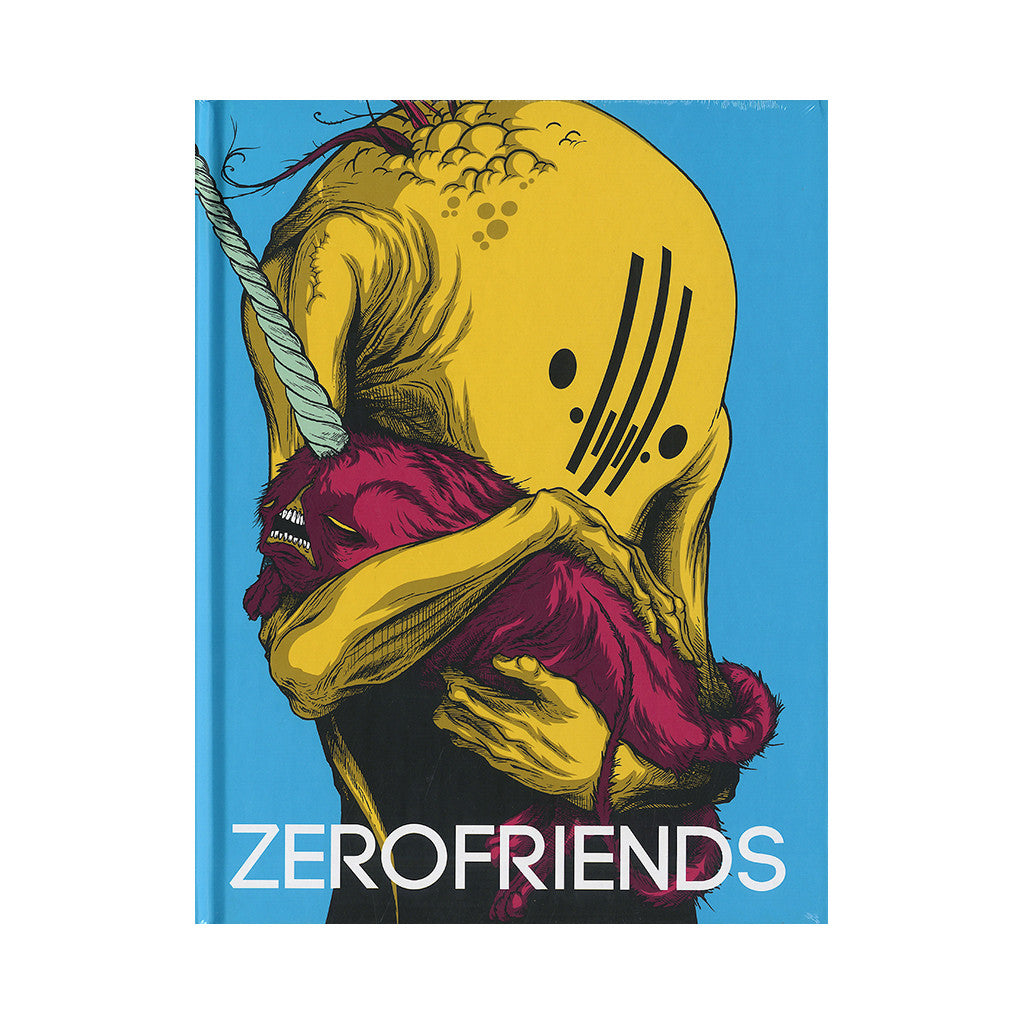 Zerofriends - 'A Collection Of Art And Madness' [Book]