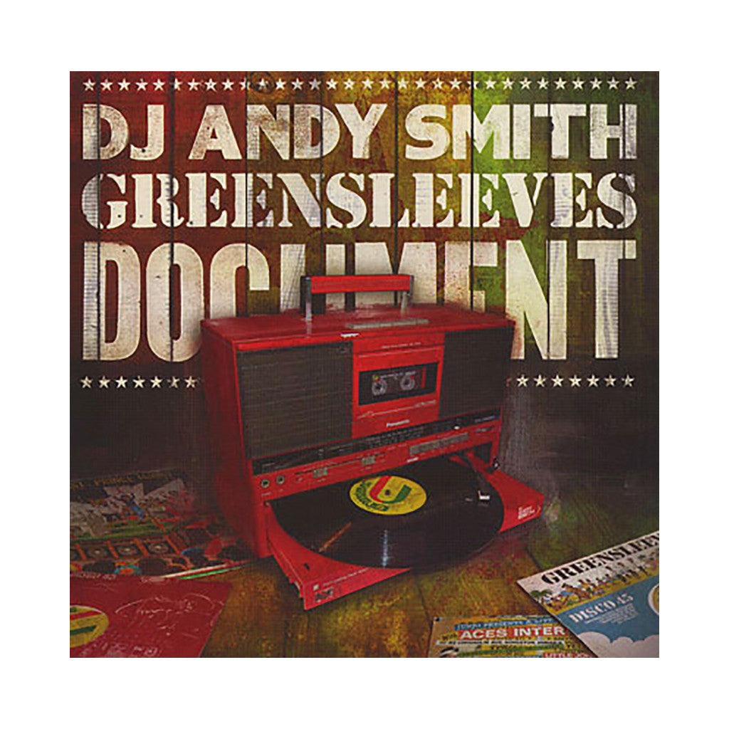<!--020090526015899-->DJ Andy Smith - 'Greensleeves Document' [CD]