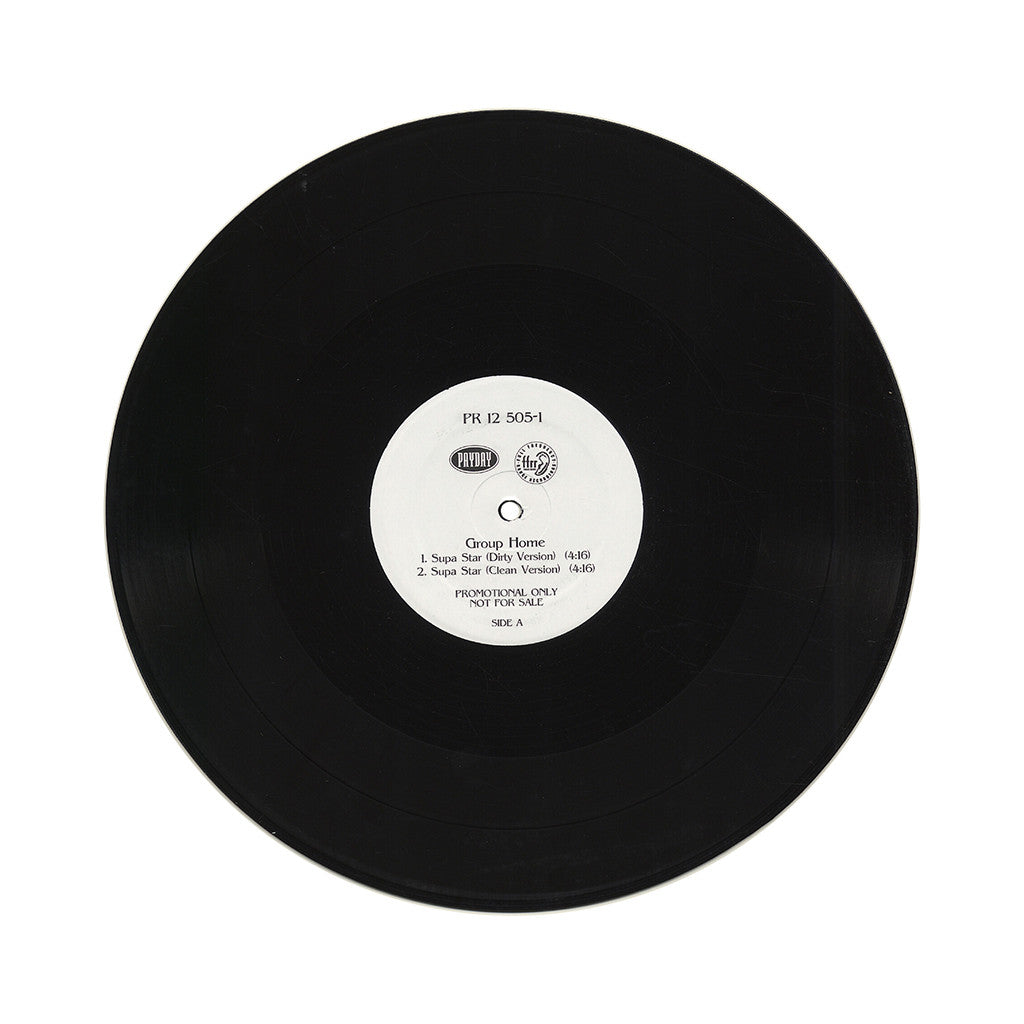 "<!--020090101008307-->Group Home - 'Supa Star/ So Called Friends' [(Black) 12"" Vinyl Single]"