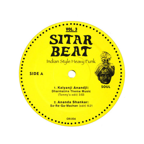 Various Artists - 'Sitar Beat: Indian Style Heavy Funk EP Vol. 3' [(Black) Vinyl EP]