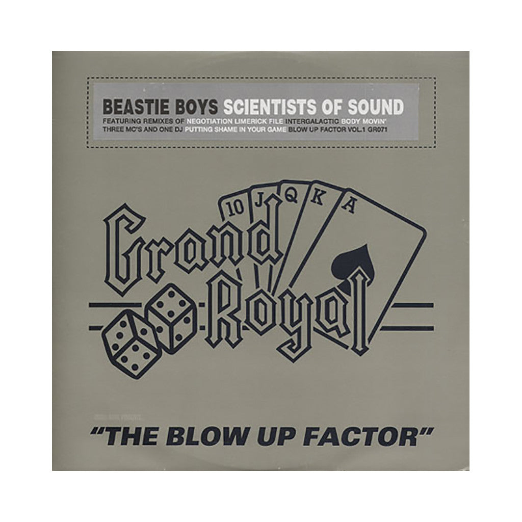 Beastie Boys - 'Scientists Of Sound: The Blow Up Factor Remixes' [(Black) Vinyl LP]
