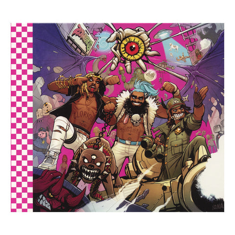 Flatbush Zombies - '3001: A Laced Odyssey' [CD]