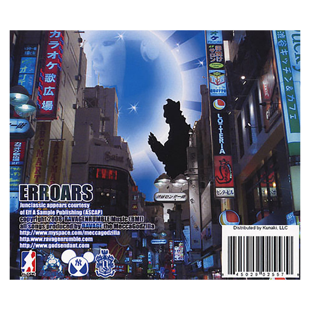 <!--020081111015346-->RAVAGE The MeccaGodzilla - 'ERROARS' [CD]