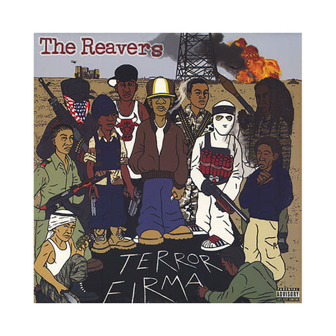 The Reavers - 'Terror Firma' [(Black) Vinyl [2LP]]