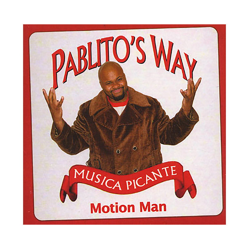 Motion Man - 'Pablito's Way' [CD]