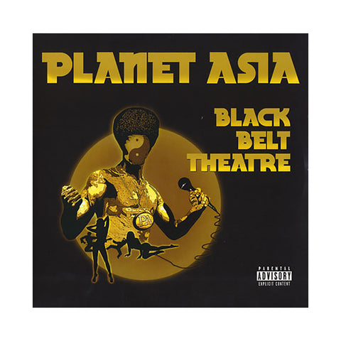Planet Asia - 'Black Belt Theatre' [(Black) Vinyl [2LP]]