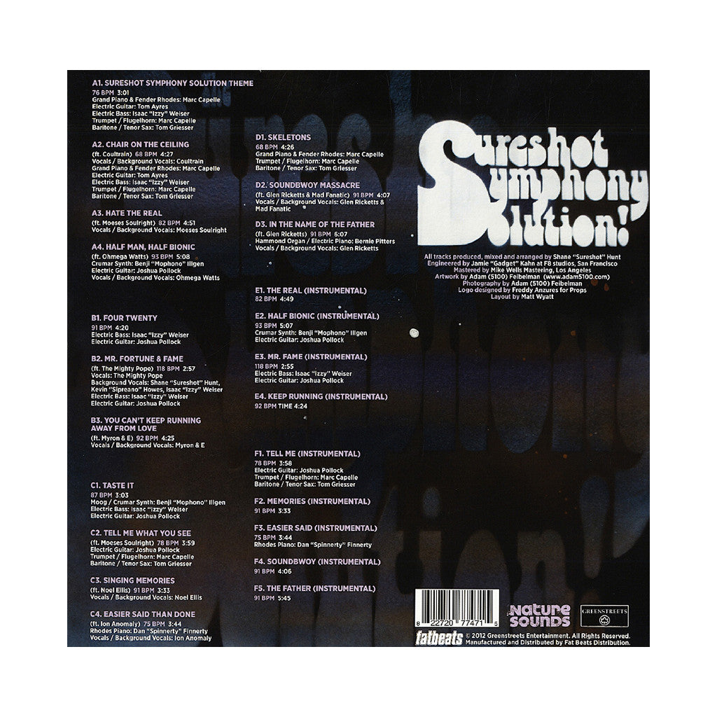 <!--120121120048048-->The Sureshot Symphony Solution - 'Elegant Aggression' [(Black) Vinyl [3LP]]
