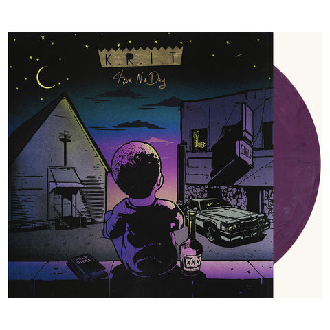 "[""Big K.R.I.T. - '4Eva N A Day' [(Purple Marble) Vinyl [2LP]]""]"