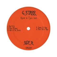 <!--019940308012184-->Gang Starr - 'Hard To Earn (Instrumentals)' [(Black) Vinyl LP]