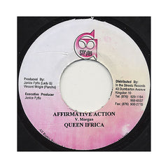 "<!--020080715014390-->Queen Ifrica - 'Affirmative Action' [(Black) 7"""" Vinyl Single]"