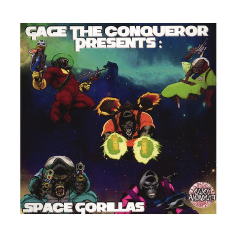 Gage The Conqueror Presents - 'The Space Gorillas EP' [CD]