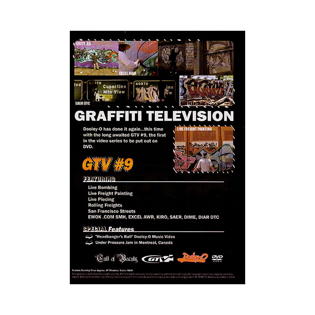 <!--020060425007258-->Graffiti TV - 'GTV Vol. 9' [DVD]