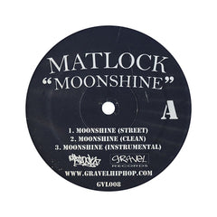 "Matlock - 'Moonshine/ Pignose/ Don't Sleep' [(Blue) 12"" Vinyl Single]"