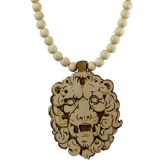<!--020121106051625-->GoodWood - 'King Lion' [(Wood) Necklace]