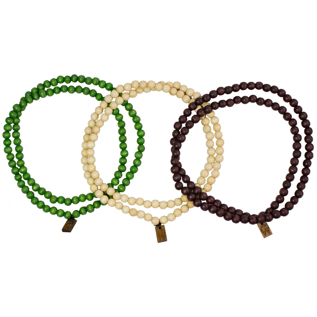 <!--2012110624-->GoodWood - 'Beaded Necklace v.3 (3 PACK)' [(Multi-Color) Necklace]