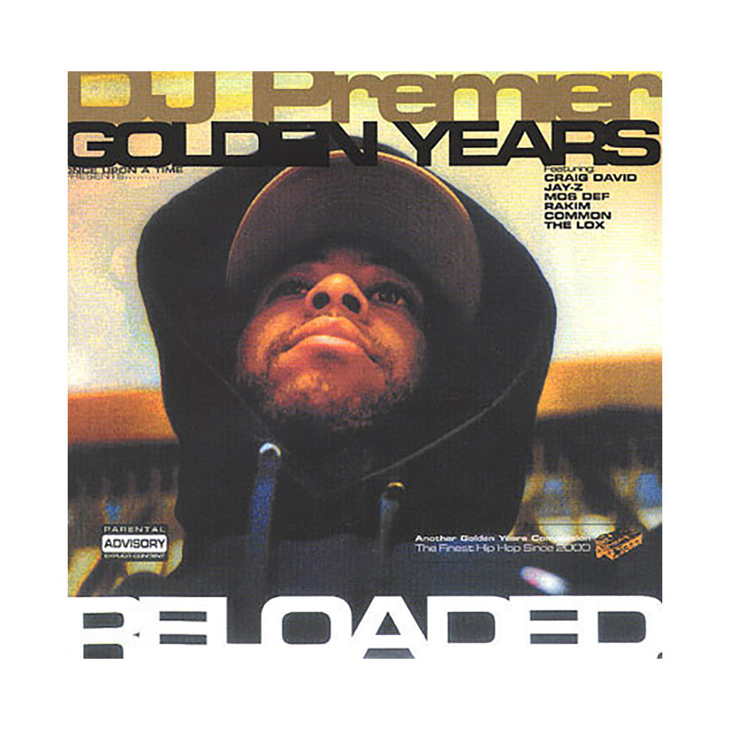 DJ Premier (of Gang Starr) (Once Upon A Time Presents) - 'Golden Years Reloaded' [CD]