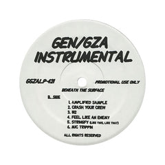 <!--019990803012152-->Gza/ Genius - 'Beneath The Surface (Instrumentals)' [(Black) Vinyl LP]