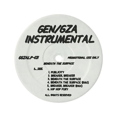 <!--1999080315-->Gza/ Genius - 'Beneath The Surface (Instrumentals)' [(Black) Vinyl LP]