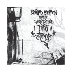 "Dirt Style Records - 'Limited Edition, Rare, Hard To Find Dirt Style (25th Anniversary Edition)' [(Black & Red) 7"" Vinyl Single]"
