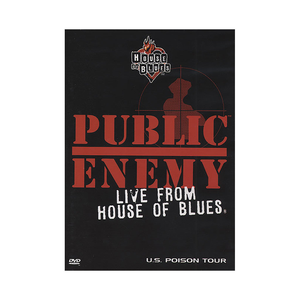 <!--019000101009862-->Public Enemy - 'Live From House Of Blues' [DVD]