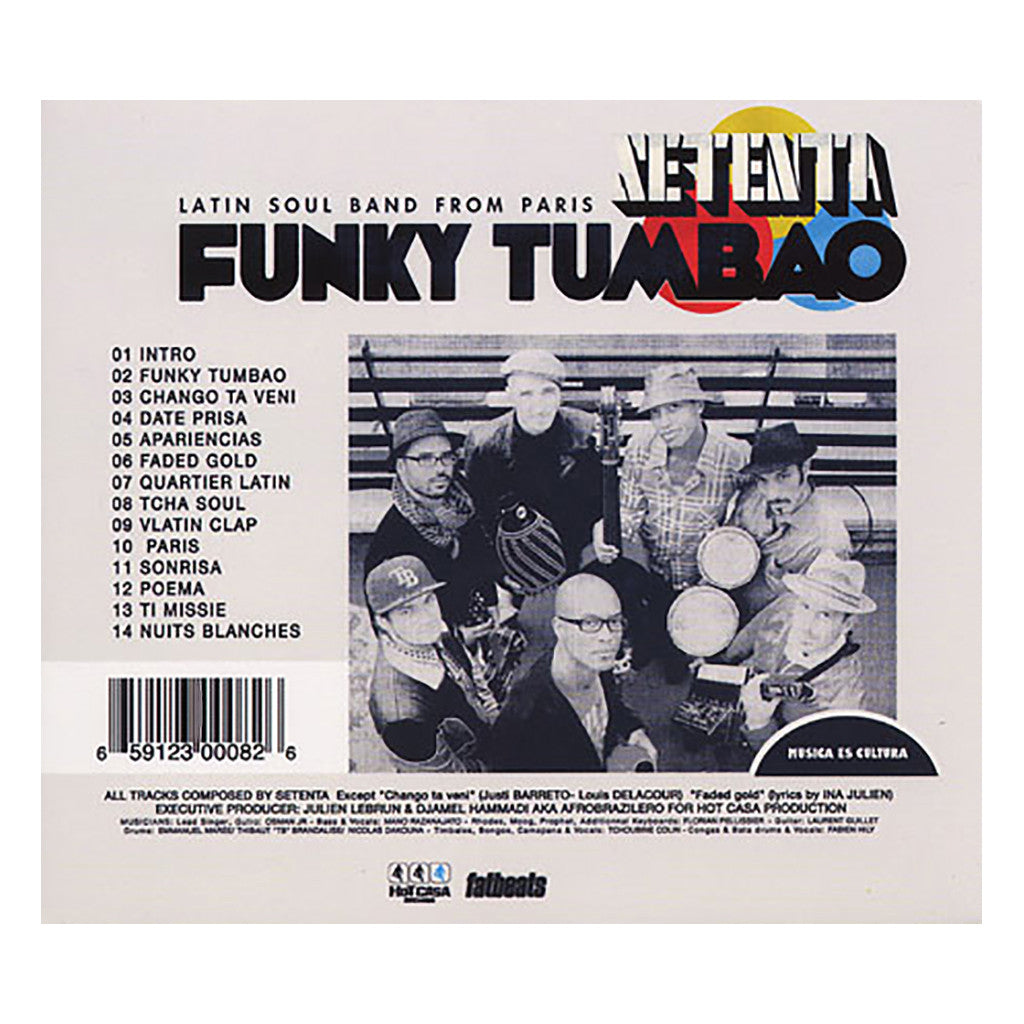 <!--020100608020832-->Setenta - 'Funky Tumbao' [CD]