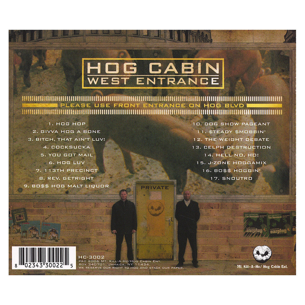 <!--120060314006668-->Boss Hog Barbarians - 'Every Hog Has It's Day' [CD]
