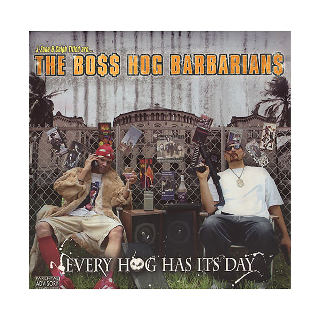 The Boss Hog Barbarians - 'Every Hog Has It's Day' [(Black) Vinyl [2LP]]