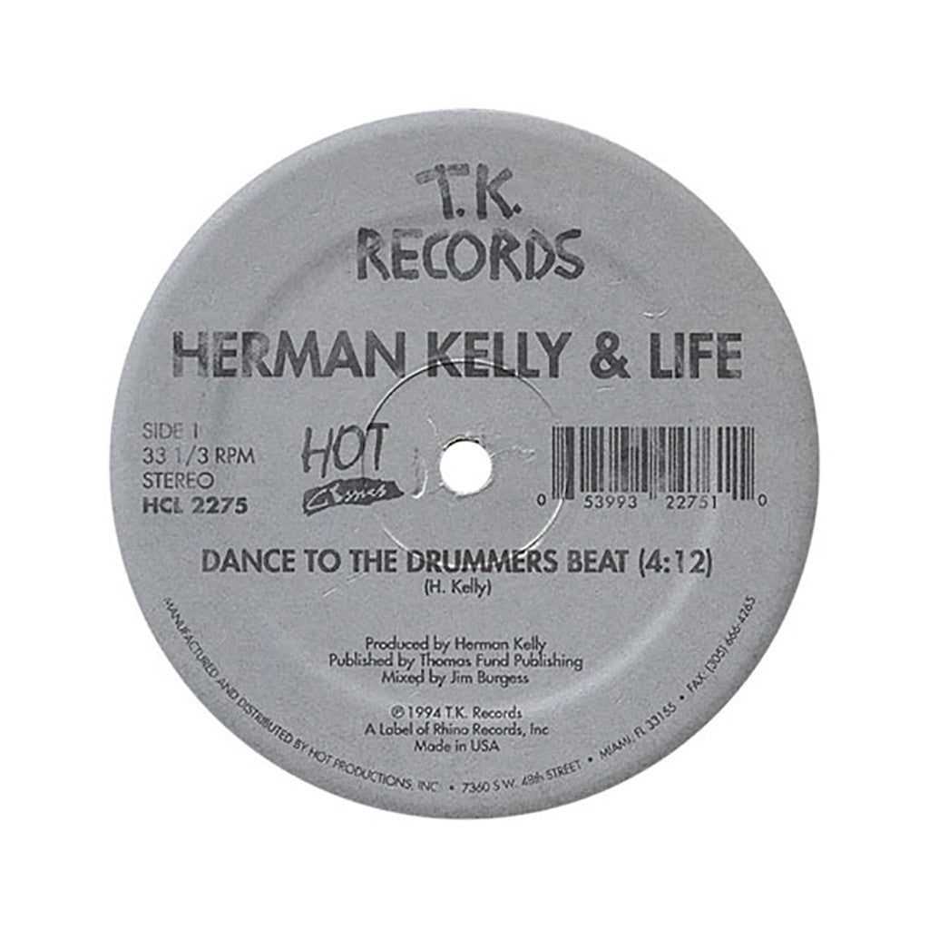 "<!--019940101005202-->Herman Kelly & Life b/w Johnny Harris - 'Dance To The Drummers Beat b/w Odyssey' [(Black) 12"" Vinyl Single]"