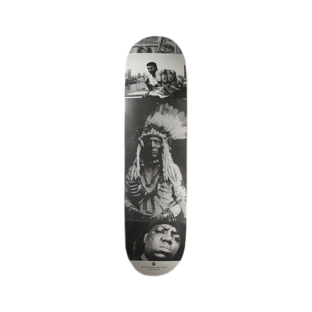 <!--020130604057016-->HOPPS x Jerry Fowler - 'Black & White' [(Black) Skateboard Deck]