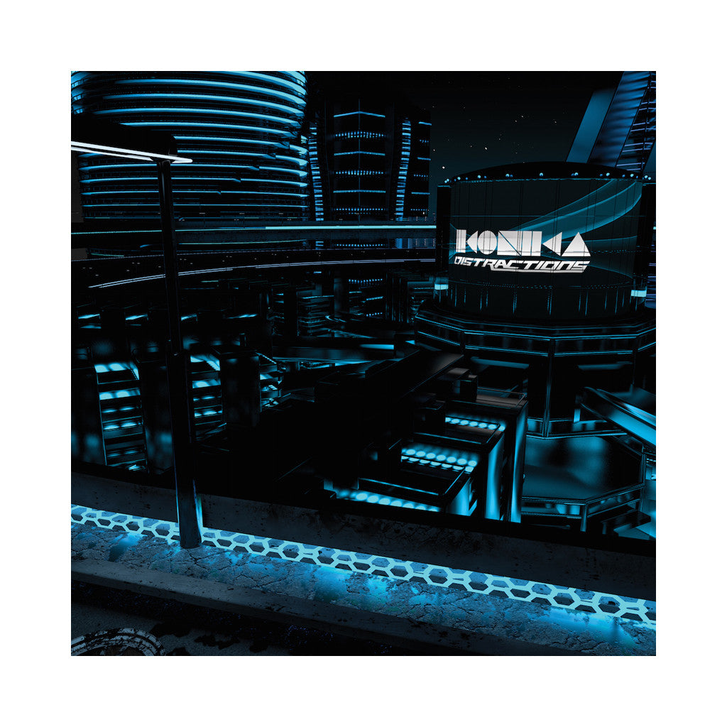 Ikonika - 'Distractions' [(Black) Vinyl [2LP]]