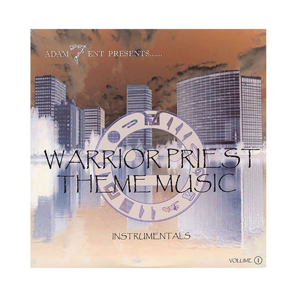 A-Plus & Opio - 'Warrior Priest Theme Instrumentals Vol. 1' [(Black) Vinyl LP]