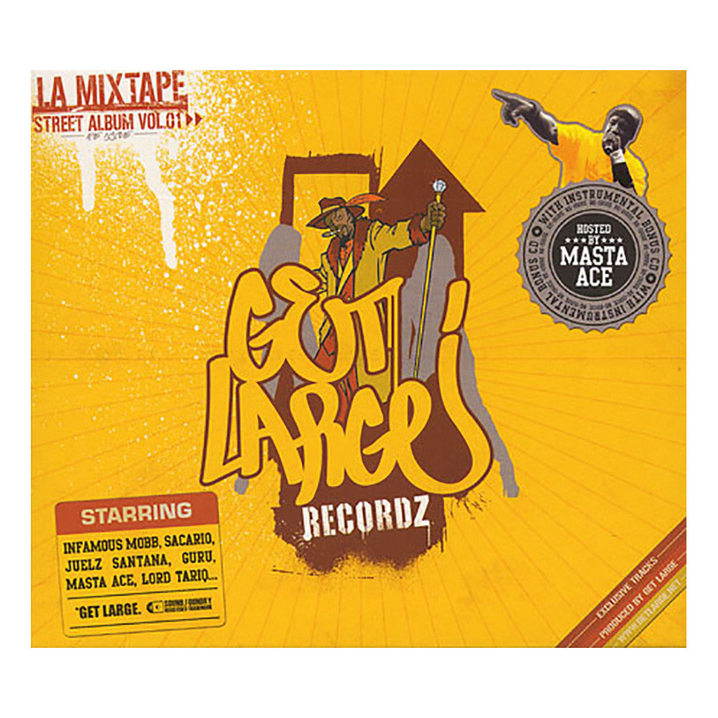 Get Large Recordz (Hosted By: Masta Ace) - 'L.A. Mixtape: Street Album Vol. 01' [CD [2CD]]