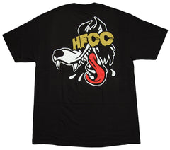 <!--2012072442-->Hell Fire Canyon Club - 'Spaceknuckle Wolf' [(Black) T-Shirt]