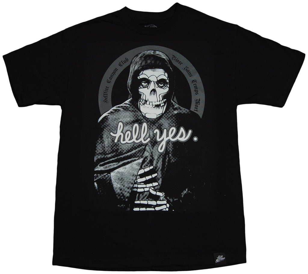 <!--2011092006-->Hell Fire Canyon Club x David Flores - 'DF Crimson Ghost' [(Black) T-Shirt]