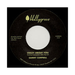"Sammy Campbell - 'Suga, Would Ya/ Crazy About You' [(Black) 7"" Vinyl Single]"