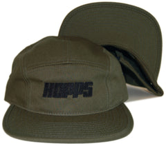 <!--020130604057033-->HOPPS - 'Big Hopps Logo' [(Dark Green) Five Panel Camper Hat]