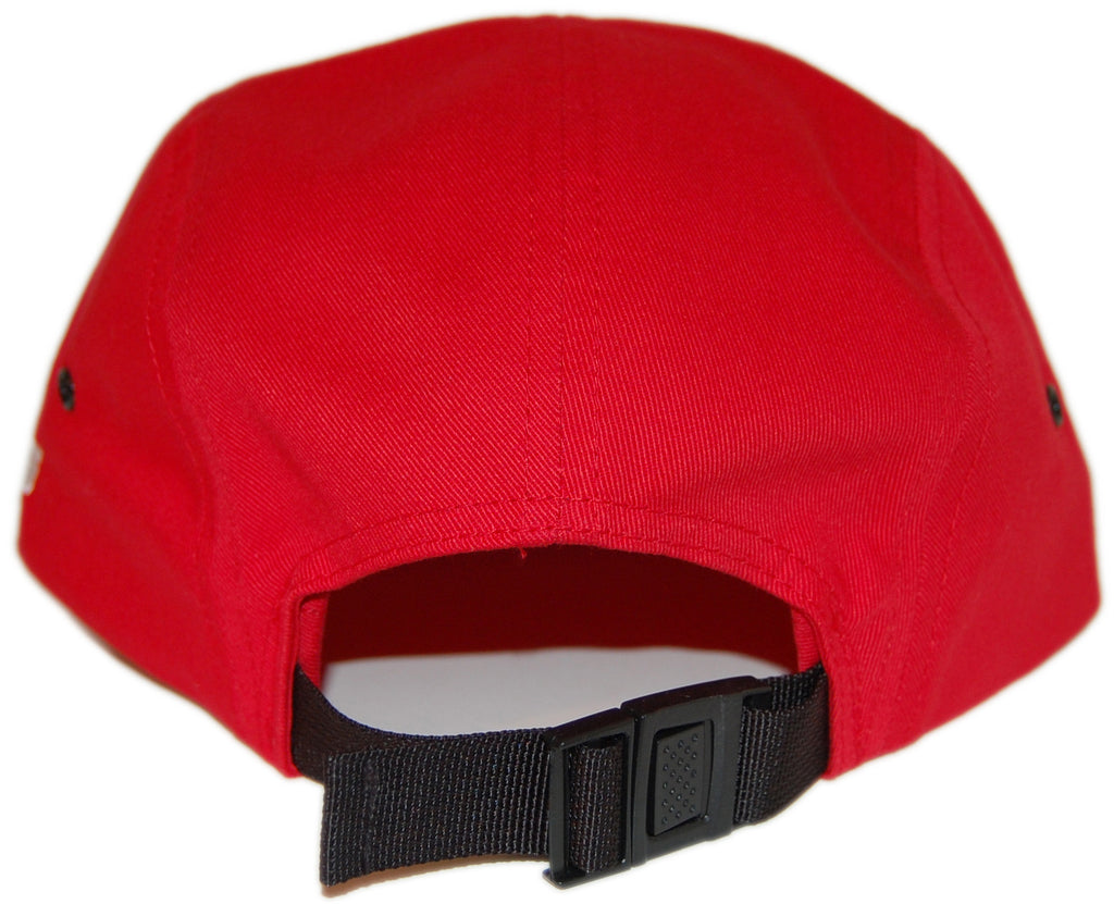<!--020130604057030-->HOPPS - 'H-Winged Foot' [(Red) Five Panel Camper Hat]